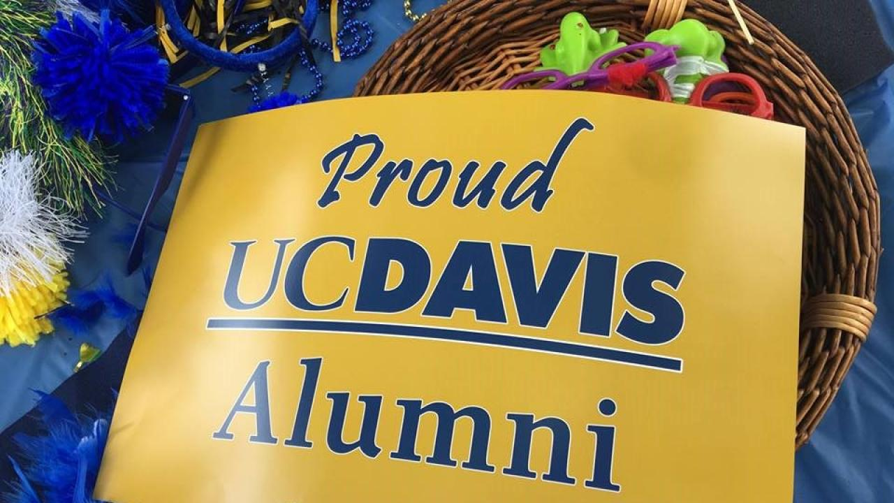 Proud UC Davis Alumni Sign