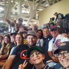 San Diego Aggies at a past Padres game