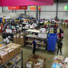 Cradles to Crayons Warehouse