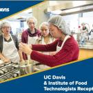 UC Davis & Institute of Food Technologists Reception Flyer
